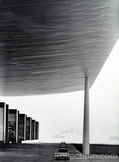 Genova, Padiglione IRI alla Fiera del Mare. Foto Studio Casali, Architetto Mangiarotti Angelo. Domus Archive