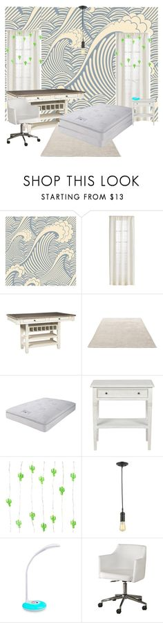 """""""Waisted style room"""" by lauralydix ❤ liked on Polyvore featuring interior, interiors, interior design, home, home decor, interior decorating, &Tradition and Signature Design by Ashley"""
