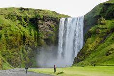 #Wasserfall #Skogafoss, #Island