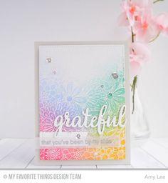 Bundles of Blossoms Background, Grateful for You, Blueprints 29 Die-namics - Amy Lee #mftstamps