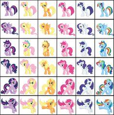 my little pony personajes - Buscar con Google