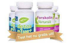 Forskolin Naturals en Detox Plus+