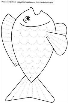 Tracing or cutting Preschool Writing, Preschool Learning Activities, Free Preschool, Kindergarten Worksheets, Worksheets For Kids, Writing Activities, Preschool Activities, Kids Learning, Rainbow Fish