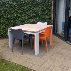 Aluminium buiten tafel #tafel#aluminium#
