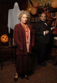 Zoe Wanamaker and David Suchet | Hercule Poirot
