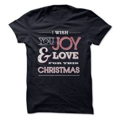 "[Love Tshirt name font] I Wish You Joy amp Love for the Christmas  Teeshirt this month  A hot seller ""I Wish You Joy and Love for the Christmas"" shirt ready for you to wear or give to your beloved ones. For more Christmas and New Year shirts please visit http //www.sunfrogshirts.com/ZankShirts/ChristmasNewYearShirts  Tshirt Guys Lady Hodie  SHARE and Get Discount Today Order now before we SELL OUT  Camping christmas tshirt love for the christmas month teeshirt you joy"