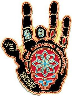 Sweet! grateful dead jerry garcia steal your face hand