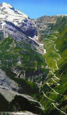 """Dell Alpe means """"from the mountain"""" Passo di Stelvio 2757 m"""