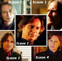 The faces of Rumple/Gold.