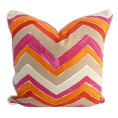I pinned this from the La Vie Boheme - Eclectic Rugs, Colorful Pillows, Plush Cubes & More event at Joss and Main! Old Pillows, Accent Pillows, Throw Pillows, Cushions, Bedroom Orange, Living Room Orange, Eclectic Rugs, Best Pillow, Colorful Pillows