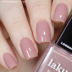 Best Nail Polish Colors of 2020 for a Trendy Manicure Mauve Nails, Neutral Nails, Manicure, Gel Nails, Nail Polishes, French Nails, Uñas Diy, Natural Looking Nails, Wedding Nail Polish