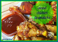 island chicken drums