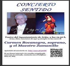 9/8 Concierto Sentido Arija 19:30h Teatro del Ayuntamiento de Arija Las Merindades Apúntate al concierto en http://www.verkami.com/projects/6067-concierto-sentido