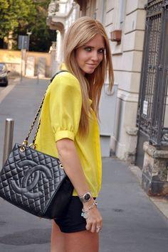 ♕  The Queen's Throne: Chiara Ferragni has style