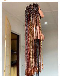 Jumbo Box Braids #CrochetBraids Bow Braid, Box Braid Wig, Lace Braid, Braids Wig, Box Braids Hairstyles, Fishtail Braids, Large Box Braids, Jumbo Box Braids, Long Braids