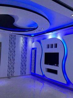 Wall Art Design - Black, White & Blue -  Architecture & Design