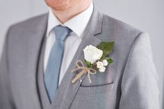 Make buttonholes without the hassle of time pressure with fresh flowers - use floral picks instead, to create a buttonhole you can treasure as a special keepsake. Gatsby Wedding Decorations, Art Deco Wedding, Diy Wedding, Wedding Ideas, Wedding Things, Wedding Stuff, Wedding Planning, Buttonholes Wedding Diy, Groom Buttonholes