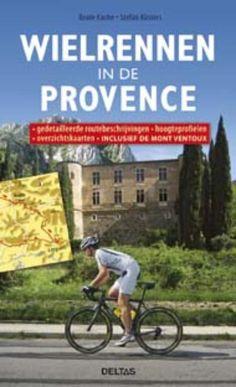 Nieuw: Het is vakantie en hebben jullie nog geen idee waar naar toe? De fiets mee en op naar de prachtige Provence Lees alles daarover in een van onze nieuwe boeken: http://www.fietskledingvoordeel.nl/wielerboeken/wielrennen-in-de-provence-beate-kache.html