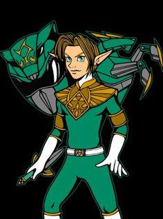 Green ranger link