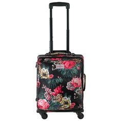 Bloomsbury Bouquet Wheeled Suitcase View All Cathkidston Cute Luggage, Luggage Bags, Cath Kidston Bags, Cabin Suitcase, Flower Bag, Bloomsbury, Clothes Horse, British Style, Beautiful Bags