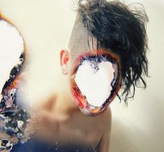 double exposure series by heitor magno... the were consumed by fire or smoke & oxygen lacked... midwest suerte