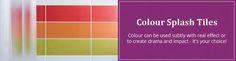 Colour Splash Tiles