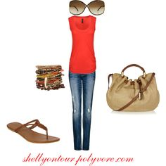 This bright tangerine color is another of my favorites for this spring/summer