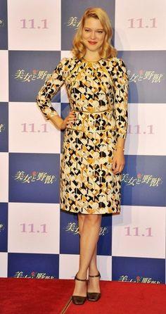 Louise Roe Print Dress - Print Dress Lookbook - StyleBistro