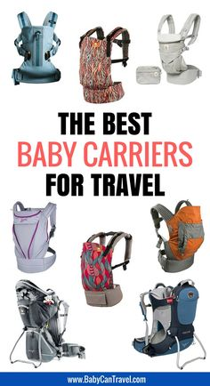 Best Baby Carriers for Travel - Baby Can Travel - Real Travel Mom - Best Baby Carriers for Travel - Baby Can Travel Looking for a baby carrier? With our detailed comparison chart, you'll find the best baby carrier for travel with your! Toddler Travel, Travel With Kids, Family Travel, Traveling With Baby, Traveling By Yourself, Traveling Europe, Travelling, Baby Hiking, Packing List For Travel