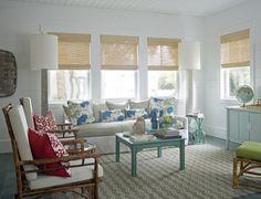 beach style living room by Joel Snayd