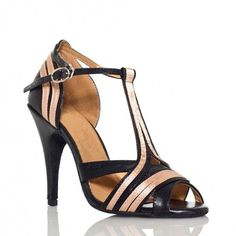 Cheap salsa dance shoes, Buy Quality discount tango shoes directly from China tango shoes Suppliers: 2013 Discount Black Leather Dance Shoes Latin Ballroom Shoes Salsa Dance Shoes Tango Shoes Striped High Heels, Black Heels, Vestidos Fashion, Latin Dance Shoes, Dancing Shoes, Salsa Shoes, Tango Shoes, Ballroom Dance Shoes, Summer Heels