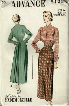 Best Vintage Patterns - Vintage Patterns 1950s