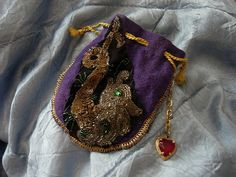 crown royal bag bedazzled...