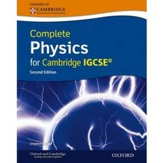 9780198310327, Complete Physics for Cambridge IGCSE Print and Online Student Book Pack (Third edition)