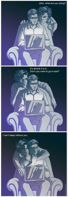 Sherlock BBC - Can't sleep by maXKennedy.deviantart.com
