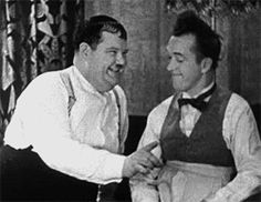 """entry from smatterings of an aesthetic Laurel & Hardy """"Our Wife"""" """"Here's another fine mess you've gotten me into, Ollie.Laurel & Hardy """"Our Wife"""" """"Here's another fine mess you've gotten me into, Ollie. Laurel And Hardy, Stan Laurel Oliver Hardy, Great Comedies, Classic Comedies, Classic Movies, The Man Who Laughs, Harold Lloyd, Power Trip, Silent Film Stars"""