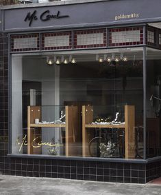 spring window display - McCaul Goldsmiths