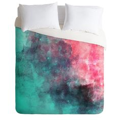 Allyson Johnson Cotton Candy Duvet Cover | DENY Designs Home Accessories