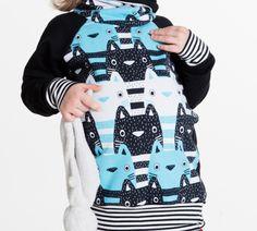 Kočičí mikina-rostoucí Christmas Sweaters, Fashion, Moda, Fashion Styles, Christmas Jumper Dress, Fashion Illustrations, Tacky Sweater