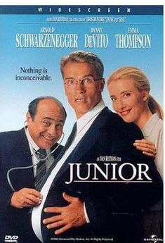 Junior on DVD from Universal. Directed by Ivan Reitman. Staring Danny DeVito, Frank Langella, Pamela Reed and Emma Thompson. More Comedy and Movies DVDs available @ DVD Empire. Arnold Schwarzenegger, Emma Thompson, We Movie, Film Movie, Old Comedy Movies, Christopher Meloni, Pamela Reed, Pregnant Man, Capas Dvd