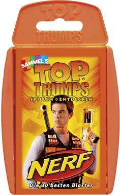 TOP TRUMPS NERF  #TopTrumps #Nerf #Blaster