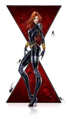 30 ilustraciones de Black Widow, la reina de Marvel
