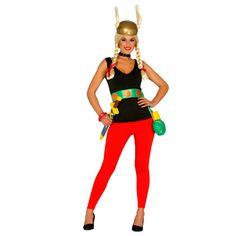 Disfraz de Asterix Mujer #disfraces #carnaval #novedades2015