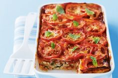 For a meal that is easy to make, uses only one dish and is low in fat, look no further than this tasty ham and ricotta lasagne.