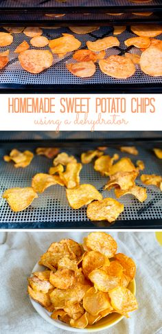 Make Your Own Crispy & Healthy Sweet Potato Chips Using a Dehydrator! #MakeYourMove @kohls #ad