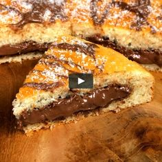 """This is """"Torta magica cocco e nutella"""" by Al.ta Cucina on Vimeo, the home for high quality videos and the people who love them. Sweet Recipes, Cake Recipes, Dessert Recipes, Nutella Cake, Buzzfeed Tasty, Holiday Cakes, Sweet Cakes, Cookies Et Biscuits, Nutella Biscuits"""