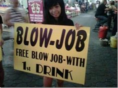 Free Jobs And Drinks