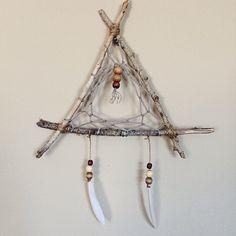 Triangle stick dream Catcher !