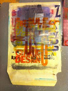 carson the rules of graphic design original art coming soon. signup at… David Carson Work, David Carson Design, Graphic Design Lessons, Modern Graphic Design, Magazine Art, Magazine Design, Collage Poster, Surf Art, Sign Printing