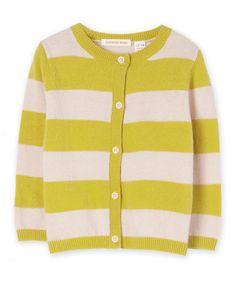 Stripe Knit Cardigan